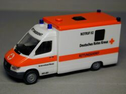 Emergency Ambulance German Red Cross Fulda