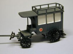 Historical Vehicle for Transport of sick or injured people