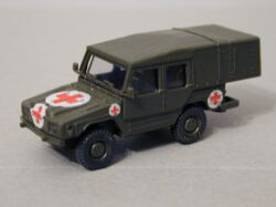 Field Ambulance VW Iltis German Army (Bundeswehr)